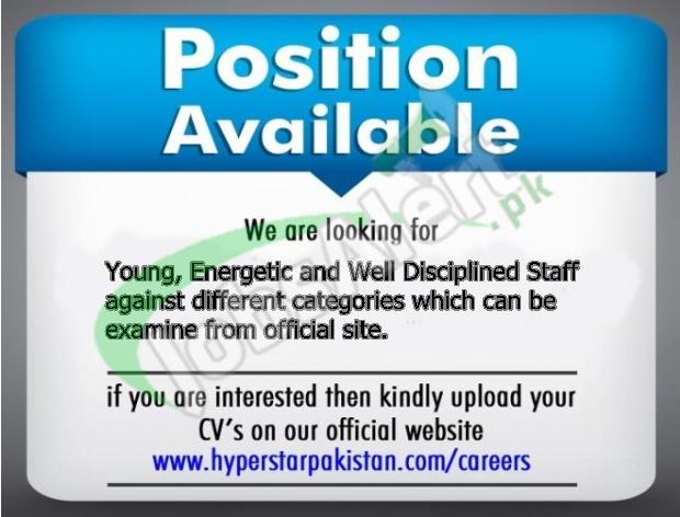 Hyperstar 1000+ Jobs 2017 Apply Online Application