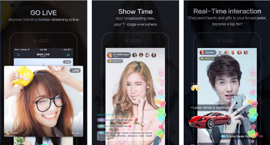 Tải BIGO LIVE cho điện thoại Android, iOS, Windows Phone