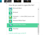 Begini Cara Memunculkan Pilihan 'Open With => Windows Photo Viewer' di Windows 10