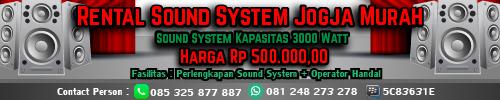 sewa sound system jogja