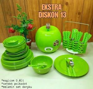 Ekstra diskon 13