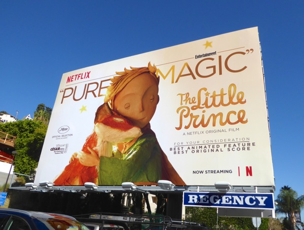 Little Prince Pure magic consideration billboard