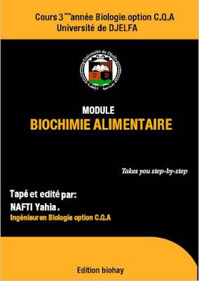 Télécharger Livre Gratuit Biochimie alimentaire pdf