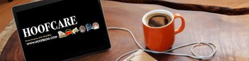 Hoofcare Publishing ipad display