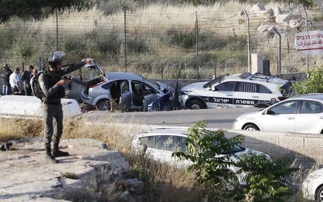 Tabrak Penghalang Jalan, Polisi Israel Tembak Mati Pemuda Palestina