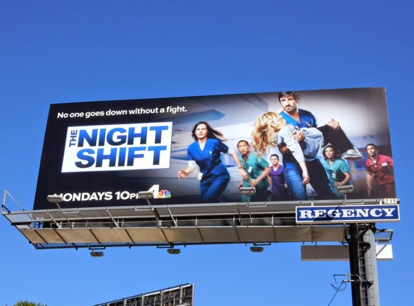 The Night Shift season 2 billboard