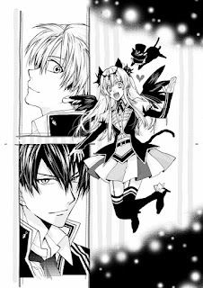 "Primera página de muestra del nuevo manga de ""Arina Tanemura"""