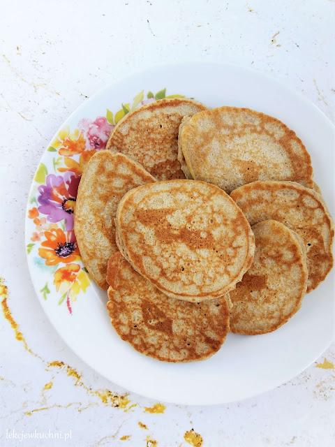 Placuszki orkiszowo-gryczane / Spelt and Buckwheat Pancakes