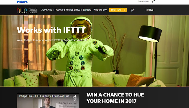 Win A Chance To Hue Your Home In 2017 Contest Hueonifttt