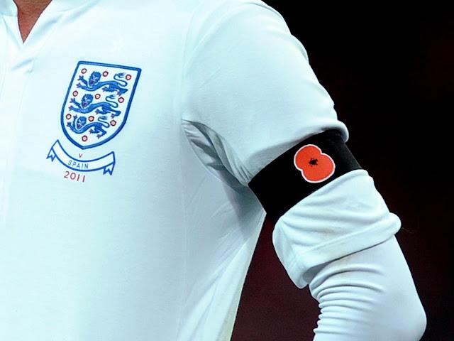 La FA pide a la FIFA una amapola para la camiseta de Inglaterra