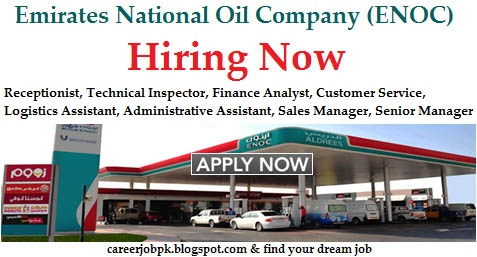 Emirates National Oil Company Enoc Jobs