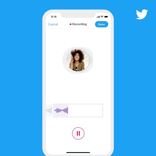 Twitter is testing audio tweets