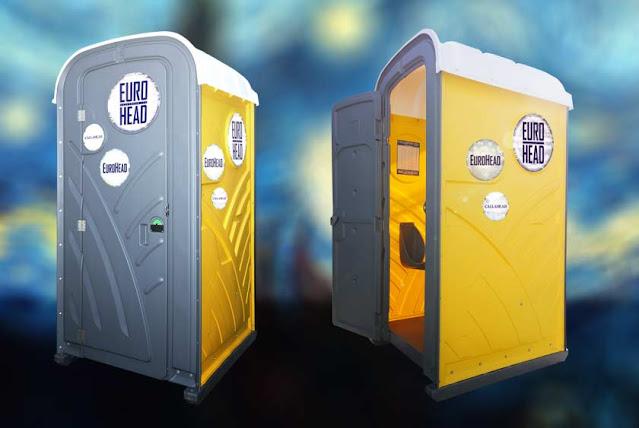 Portable toilet | Euro Head
