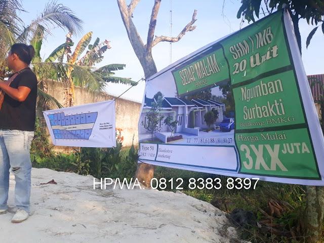 Kondisi Di Proyek Rumah Murah Perumahan Sedap Malam House Ngumban Surbakti Padang Bulan Medan Sumatera Utara