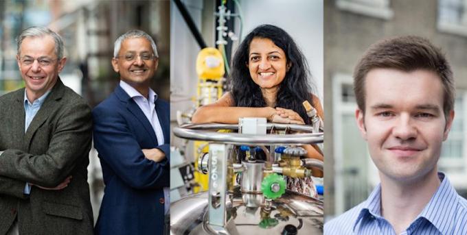 Shankar, David ,Suchitra,Jack recognised by Breakthrough Prize Foundation