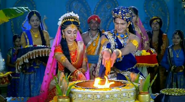 Radha Krishna Serial : 27 jan in English
