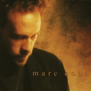 Marc Cohn album cover, sepia headshot portrait