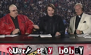 WCW Uncensored 1997 - Dusty Rhodes, Tony Schiavone, Bobby 'The Brain' Heenan