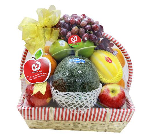 Giỏ hoa quả Phát tài P38