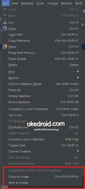 yang fungsinya untuk membantu kalian dalam mengambil screenshot Tips Cara Menginstall Plugin Code Screenshots di Android Studio