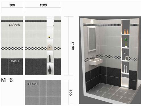 Cách bạn chọn gạch ốp tường nhà tắm chuẩn 2