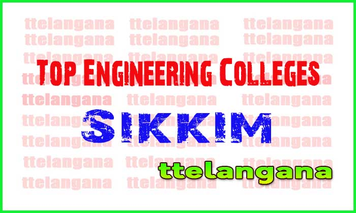 Top Engineering Colleges in Sikkim