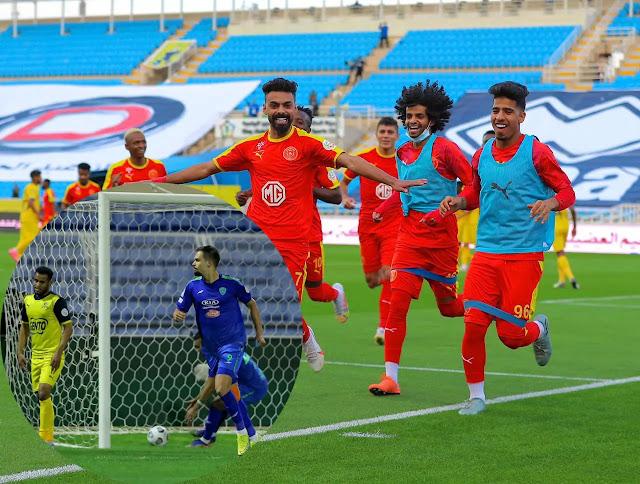 نتائج مباريات يوم السبت من الجولة 18 من الدوري السعودي