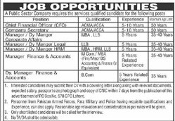 Public Sector Company PO Box NO 678 Lahore Jobs 2021 Latest Advertisement -  Public Sector Organization Jobs 2021 in Pakistan