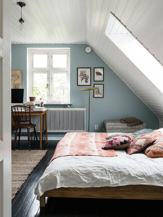 my scandinavian home: a lovely swedish home full of flea market finds