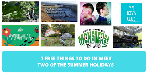7 FREE Things to Do in Week Two of the Summer Holidays