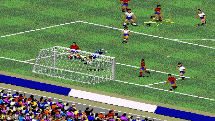 12. FIFA International Soccer (1993) FIFA 18 (2017)