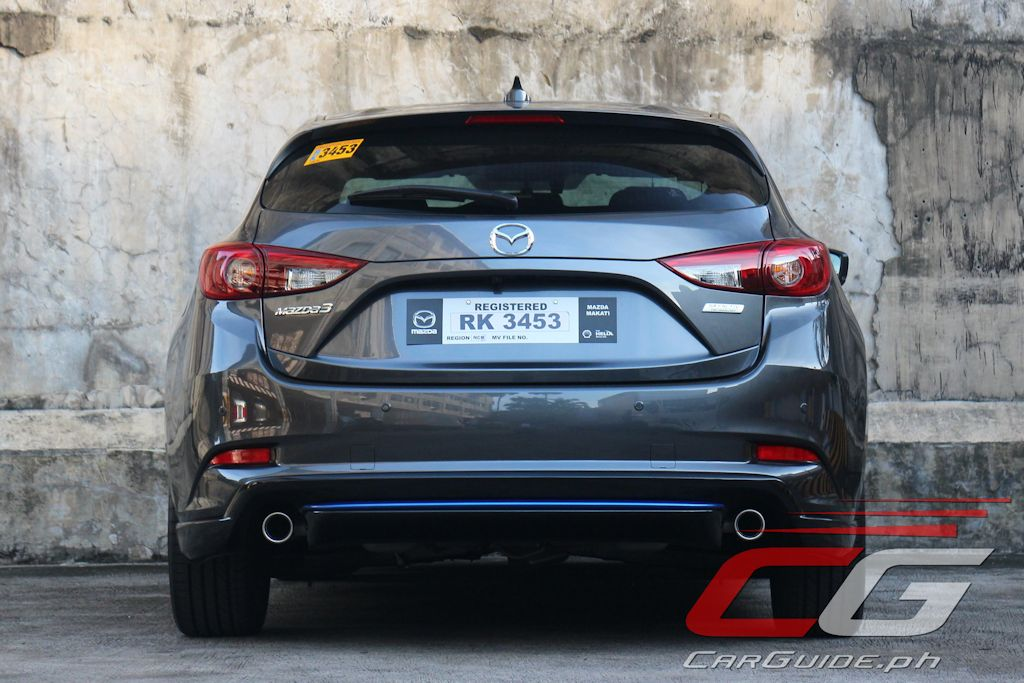 this is the philippines first machine gray metallic mazda3 and