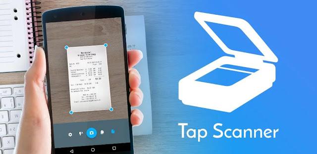 تنزيل TapScanner  ماسح ضوئي بسيط وذكي لنظام الاندرويد