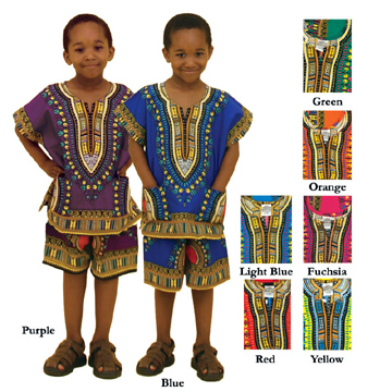 latest barbie fashion: african clothing for kids