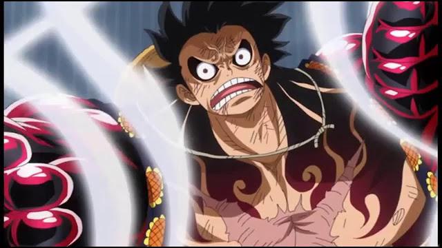 Luffy Gear 4th