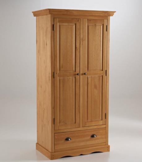 Gambar Model Lemari Kayu Jati 2 Pintu Terbaru
