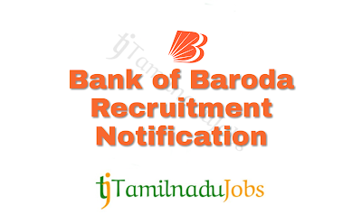 Bank of Baroda Recruitment notification of 2018