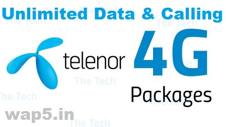 Telenor Introduces two new unlimited 4G data packs for its customers in UP East circle