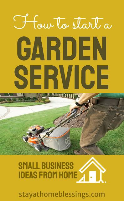 How to start a garden service