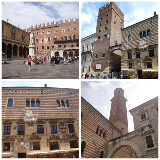 Um dia em Verona - Piazza dei Signori