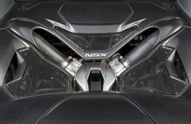 2017 Acura NSX Facelift
