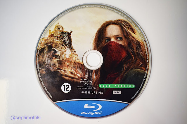 Análisis y un reportaje fotográfico de la edición bluray de 'Mortal Engines'