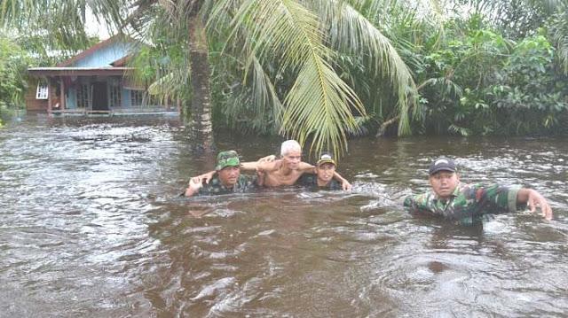 Pemerintah Janji Atasi Dampak Banjir di Barat Selatan Aceh