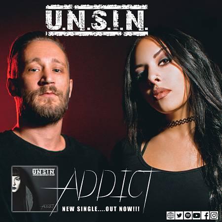 """U.N.S.I.N.: Ακούστε το νέο τους single """"Addict"""""""