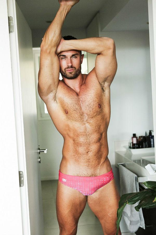 Ben Dudman Shirtless by Alejandro Ramirez