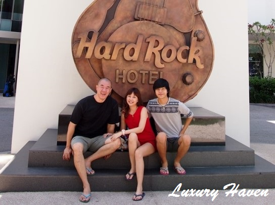 hard rock hotel penang family vacation