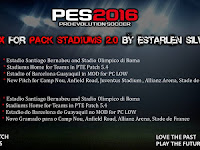 PES 2016 FIX Esterlan Silva Stadium Pack V2