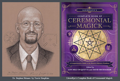 Stephen Skinner. Author. Llewellyn's Complete Book of Ceremonial Magick. by Travis Simpkins