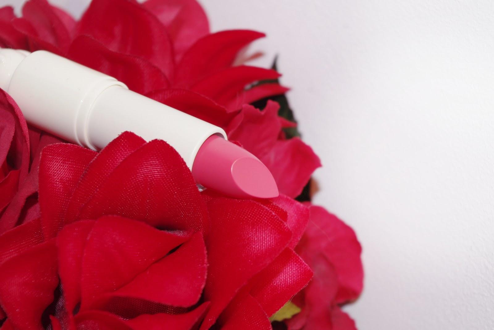 TonyMoly Bling Cat Cotton Lipstick 02 Heroine Pink