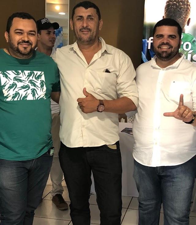 PABLO THIAGO LINS CONFIRMA APOIO AO PRÉ CANDIDATO  MACIEL GOMES E FORTALECENDO O GRUPO DA OPOSIÇÃO